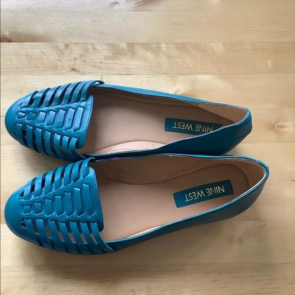 Nine West huarache sandals shoes size 6 6.5